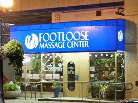 Footloose Massage Center Entrance